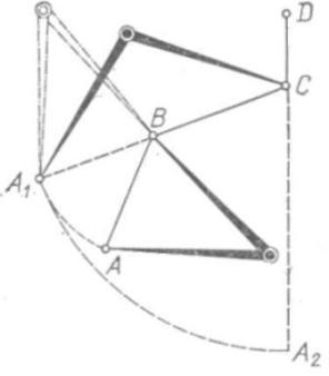 Рис. 98. Измерение циркулем ломаной кривой