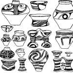 Рис. 72. Трипольская керамика.