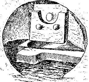 Рис. 113. Внутренний вид гробницы 1 сицилийской культуры, Кастеллуччо.