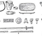 Рис. 4.4. Материальная культура кочевников Семиречья и Тянь-Шаня в усуньский период