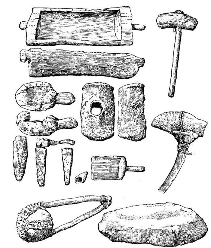 Орудия для добычи медной руды. Бронзовый век Европы