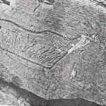 Рис. 123. Минусинская котловина. Тепсей II. Вырождение скифо-сибирского звериного стиля