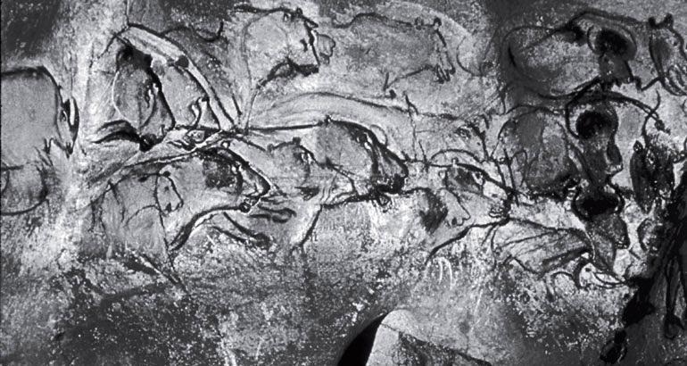 Рис. 1.5. Наскальная живопись в Грот де Шаво, Франция