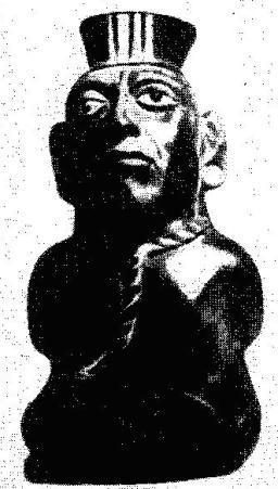 Сосуд, изображающий военнопленного или раба. Древние Анды