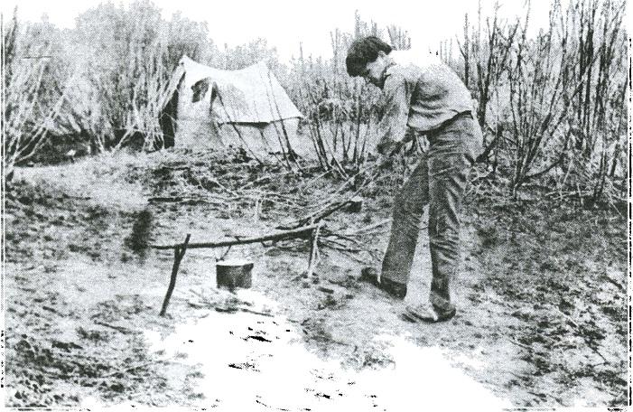 Разведка no p. Нуpa. Центральный Казахстан, 1975 г.