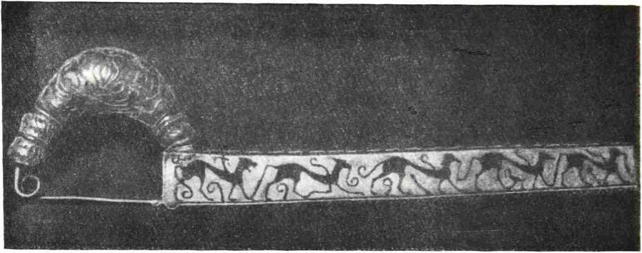 1. Фибула из гробницы дель Литторе.